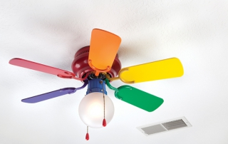 Colorful Ceiling Fan